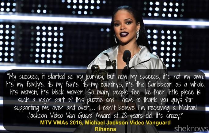 Rihanna VMAs 2016