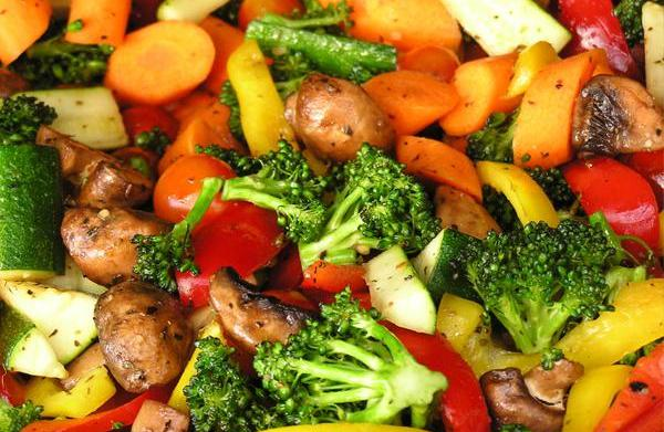 Healthy Vegetable Preparation