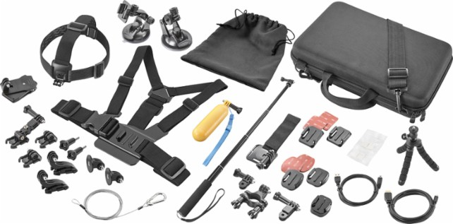 Holiday Gifts Perfect for Techies: GoPro Accessory Kit
