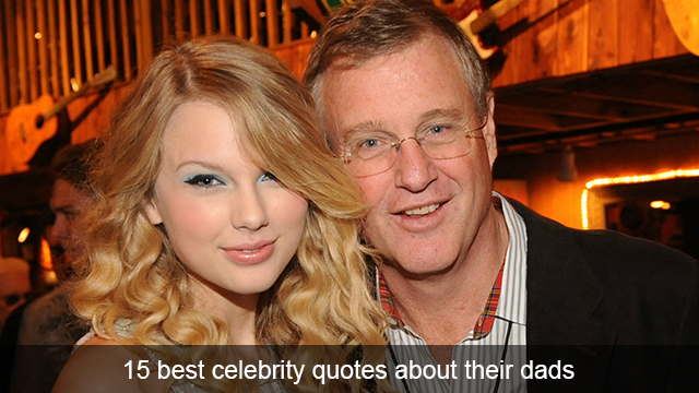 Taylor Swift and her dad