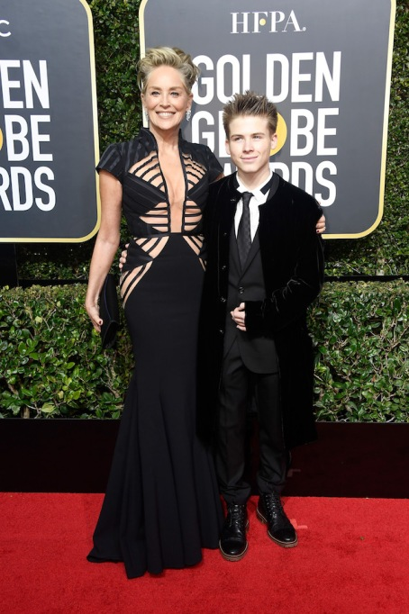 Best Golden Globes fashion 2018: Sharon Stone