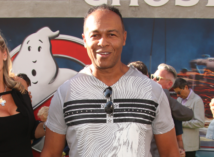 "Ray Parker Jr., singer of the song ""Ghostbusters"""
