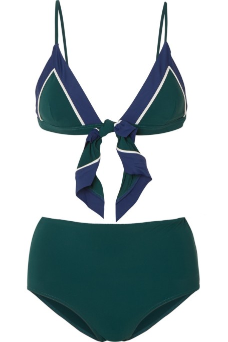Rye Front-Tie Bikini