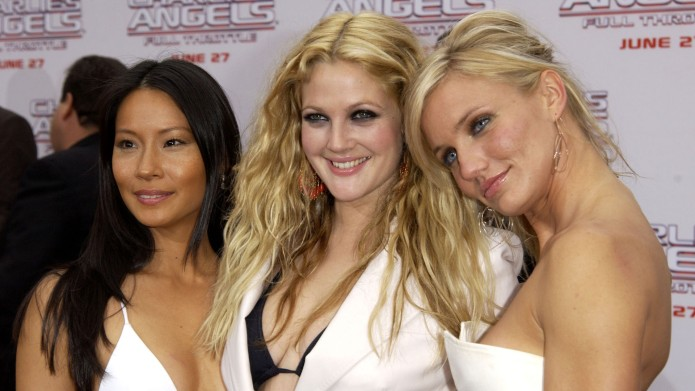 Lucy Liu, Drew Barrymore, and Cameron