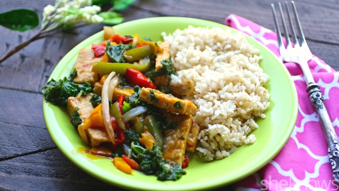 Meatless Monday: Quick Sichuan veggie and