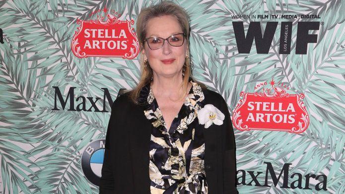 Meryl Streep and Karl Lagerfeld's Oscars