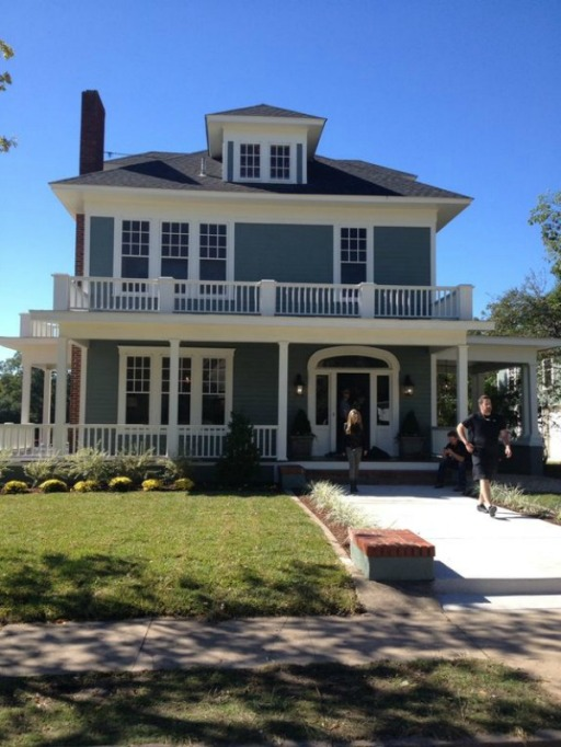 Fixer Upper Houses for Rent: The Gorman House is great for large groups