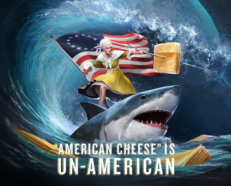 Betsy Ross tillamook unamerican cheese