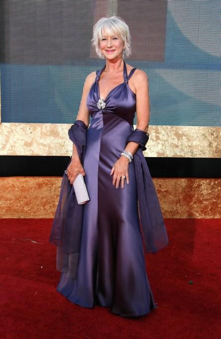 Ultra Violet On The Red Carpet | Helen Mirren