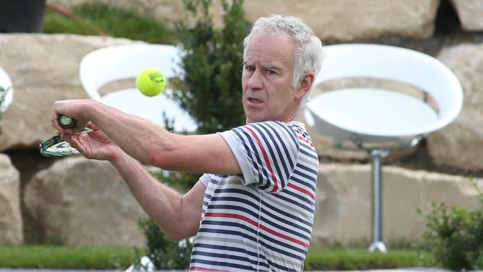Busted! Tennis pro John McEnroe's son