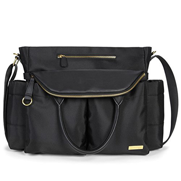 The Coolest Diaper Bags in Disguise | Skip Hop Chelsea Downtown Diaper Satchel