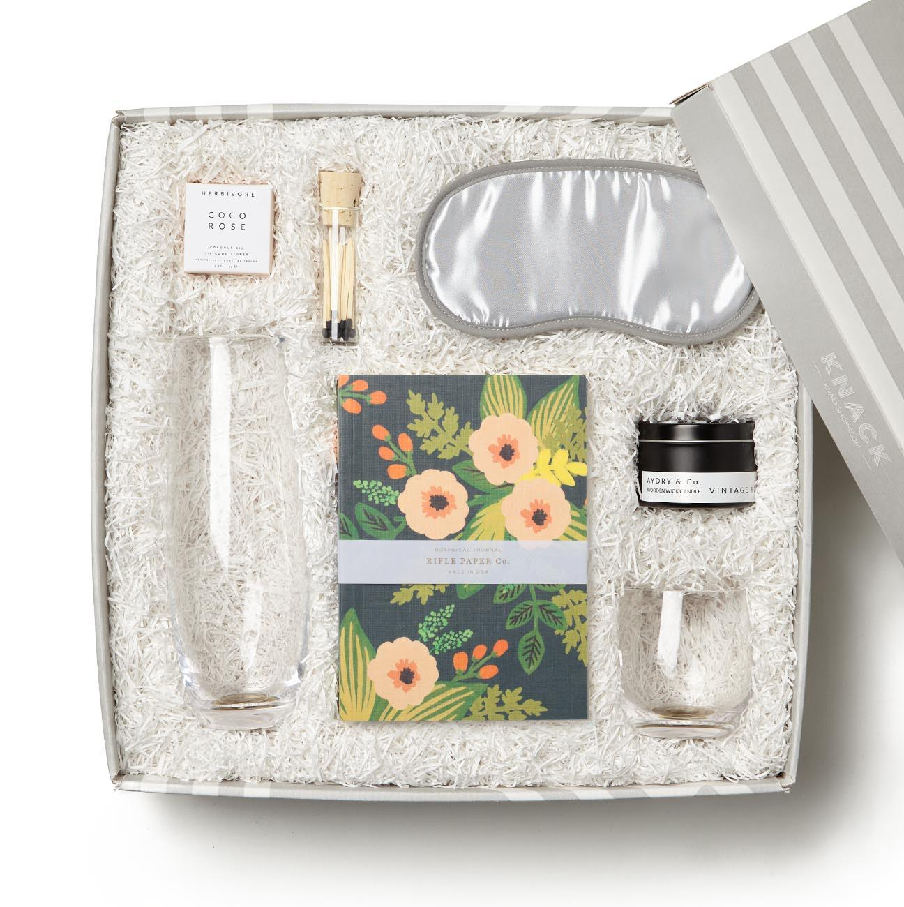 By Her Side mother's day bedside gift box