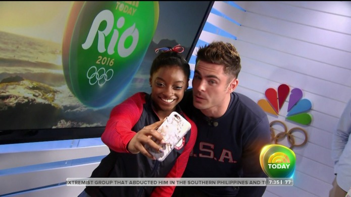 Simone Biles is wanted by DWTS