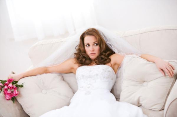 Unsure bride