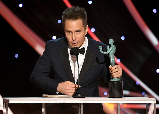 Best Winners' Speeches from the SAG Awards 2018: Sam Rockwell