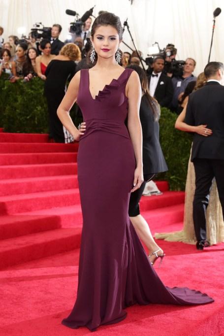 Ultra Violet On The Red Carpet | Selena Gomez