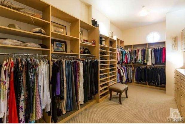 Britney's master closet