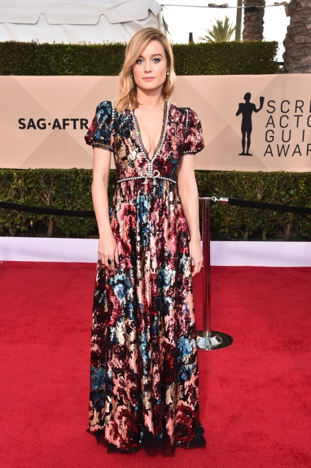 2018 SAG Awards Best Dressed: Brie Larson