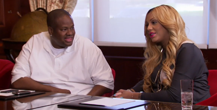 Tamar and Vince's marriage isn't as