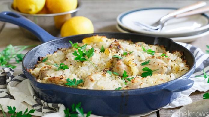 One-Pot Wonder: Greek lemon chicken and