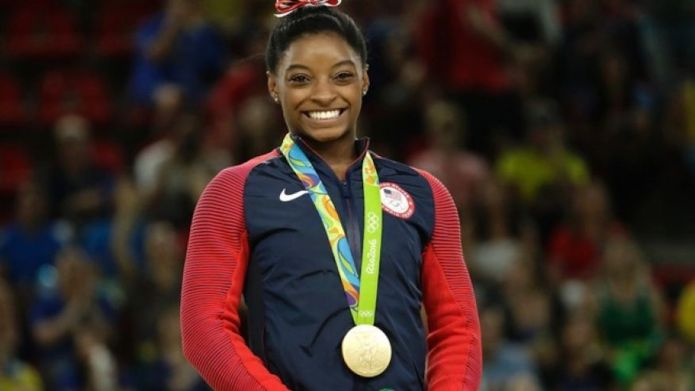 Just so you know, Simone Biles