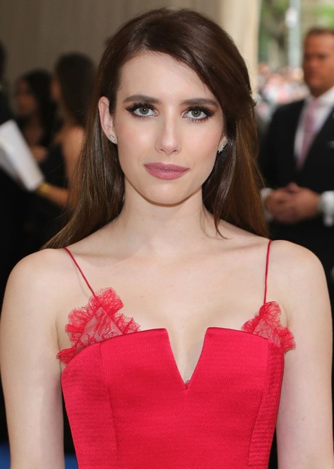 Celebrity-Inspired Ways to Wear Pink Lipstick | Emma Roberts in pink lipstick | Celeb Style Trends 2017