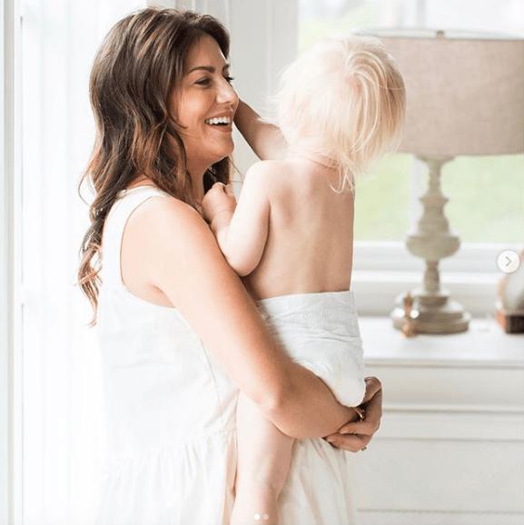 Jillian Harris and baby on Instagram