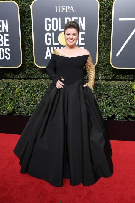 Best Golden Globes fashion 2018: Kelly Clarkson