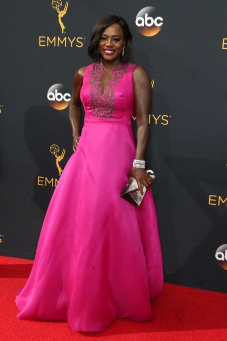 Viola Davis red carpet looks: 2016 Emmys