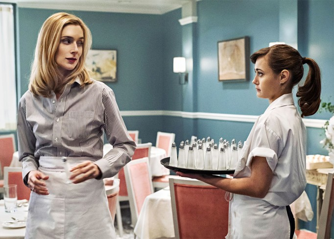 Tess & Simon in 'Sweetbitter'
