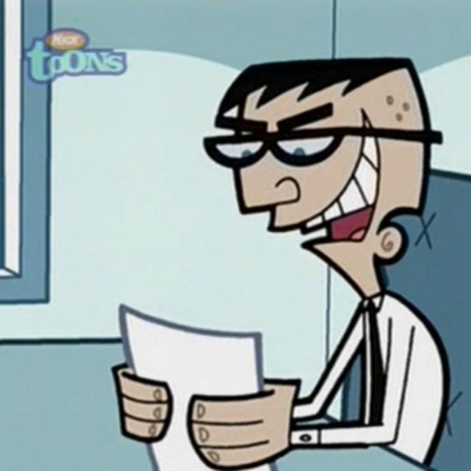 The Fairly Oddparents Mr. Crocker