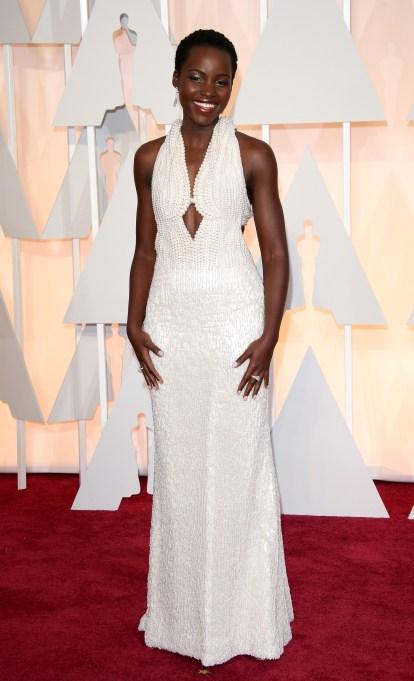 Lupita Myong'o Oscars dress