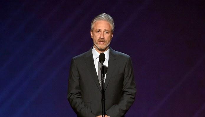 Jon Stewart Tried Really Hard to