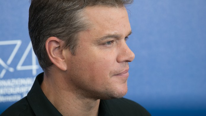 Matt Damon Confesses He's Been Naive