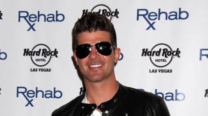 Robin Thicke uses the Billboard Music