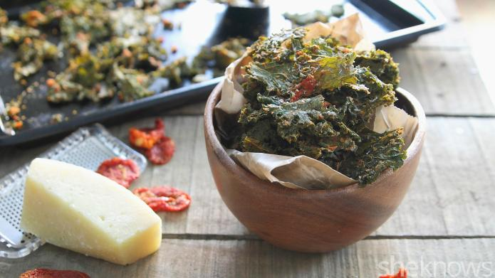 Pizza-flavored kale chips will make it