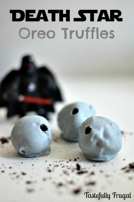Star Wars Death Star Oreo truffle
