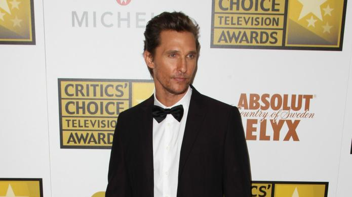 Matthew McConaughey is hanging up his