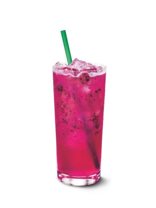 Mango Dragonfruit Starbucks Refresher