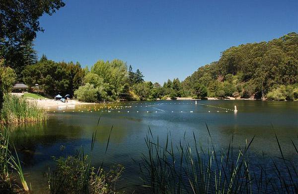 Lake Anza at Tilden Park