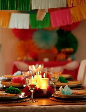 Host a Mexican fiesta family dinner