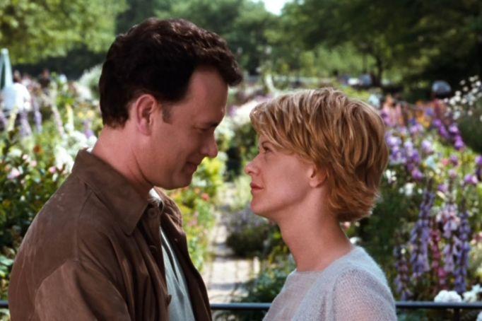 Tom Hanks & Meg Ryan in You've Got Mail