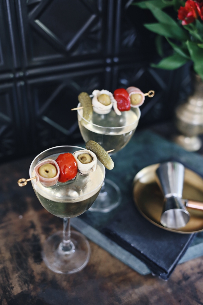 Banderillas Savory Martini