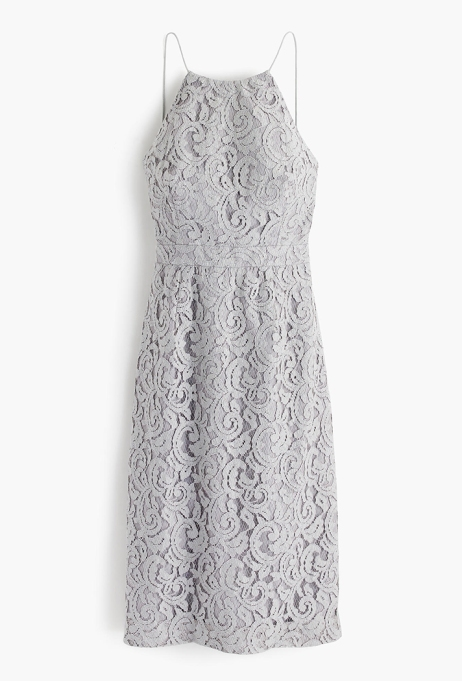 What to Wear to a Fall or Winter Wedding: Lydia Dress in Leavers Lace | Fall Style 2017