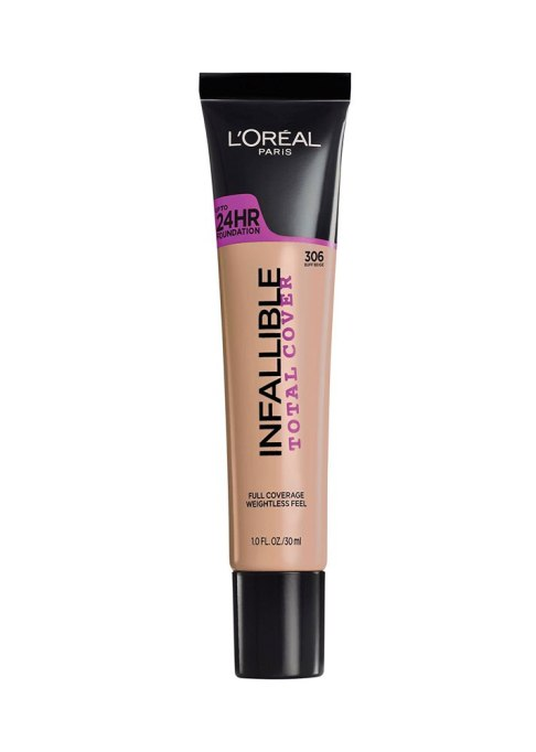 Beauty Products Celebs Use To Stay Fresh Faced On Stage | L'Oréal Paris Infallible Total Cover Foundation