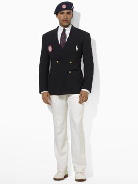 Men's opening ceremonies outfit