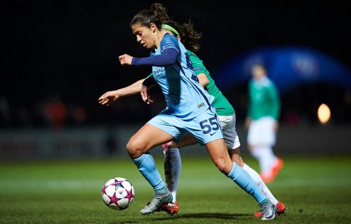 Carli Lloyd UEFA Women's Champions