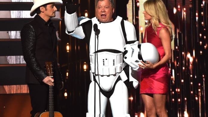CMAs 2015: Was William Shatner completely