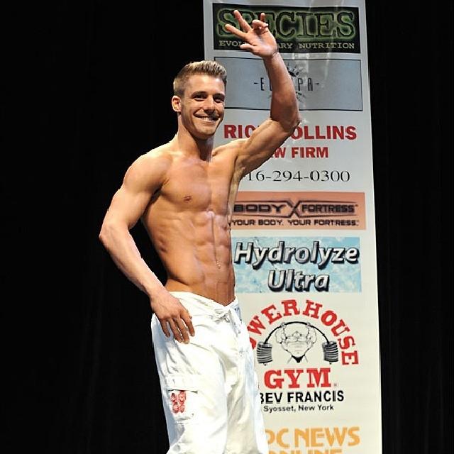 Paulie Calafiore bodybuilding