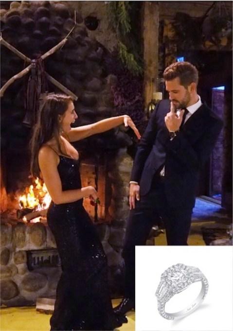 The Bachelor's Nick and Vanessa